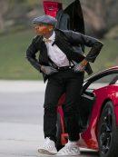 Singer Chris Brown Stylish Jacket
