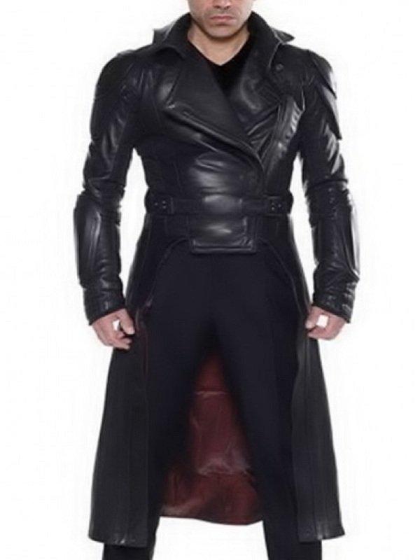 G.I. Joe Retaliation Cobra Commander Leather Trench Coat
