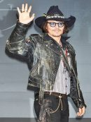 Vintage Style Johnny Depp Distressed Jacket