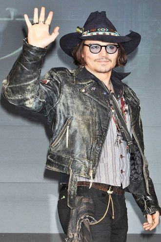 Vintage Style Johnny Depp Distressed Jacket