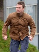 TV Drama Arrow Oliver Queen Brown Jacket