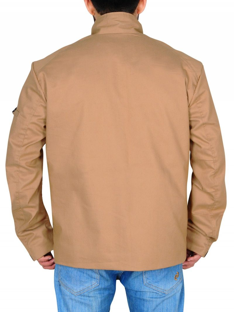 Oliver Queen Stylish Cotton Jacket