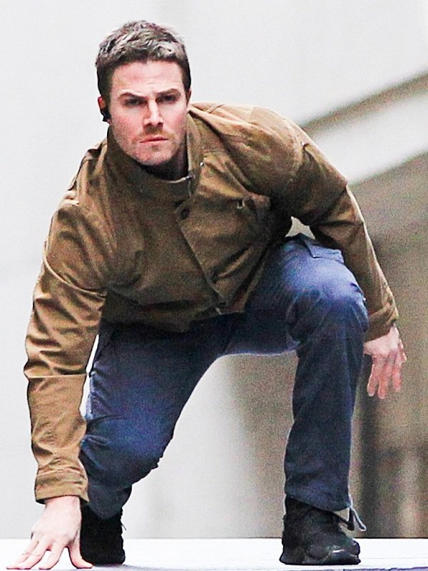 Arrow Oliver Queen Brown Jacket