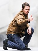 TV Series Arrow Oliver Queen Brown Jacket