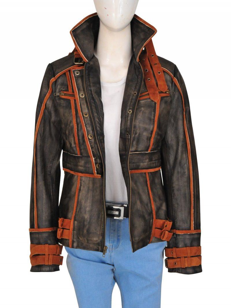 Jessica Biel Melina Total Recall Jacket