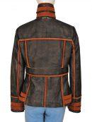 Jessica Biel Total Recall Leather Jacket