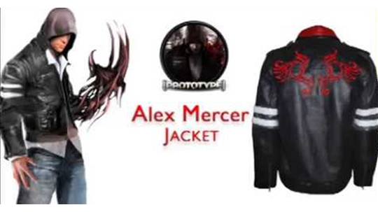 Give yourself new definition by dressing up in Alex Mercer Leather Jacket