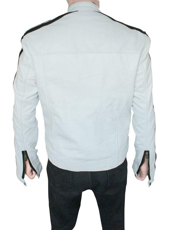 Aaron Paul White Jacket