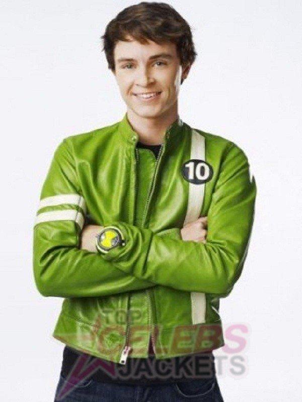 Ben 10 Alien Swarm Green Jacket