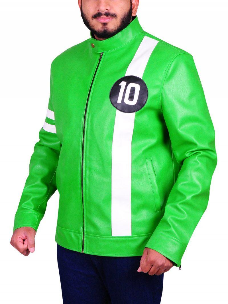 Ben 10 Cosplay Leather Costume Jacket