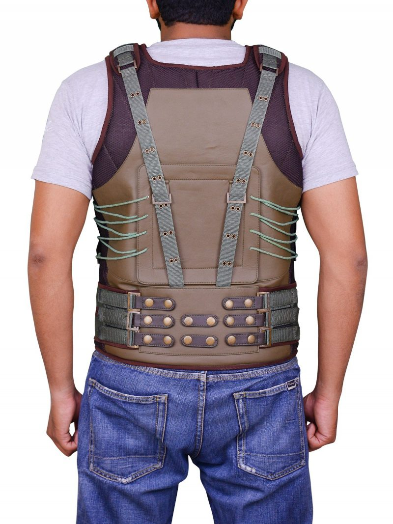 Tom Hardy Bane Leather Vest