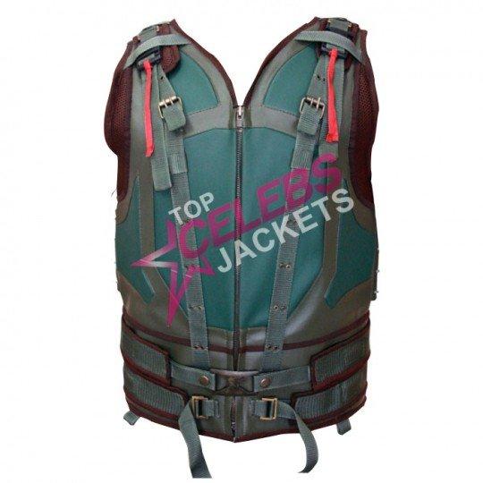 bane vest leather jacket