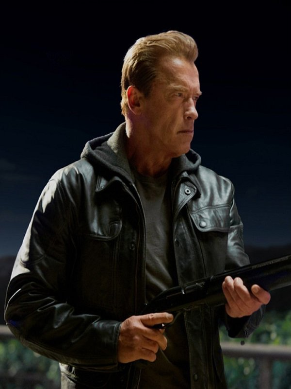 T800 Terminator Genisys Leather Jacket