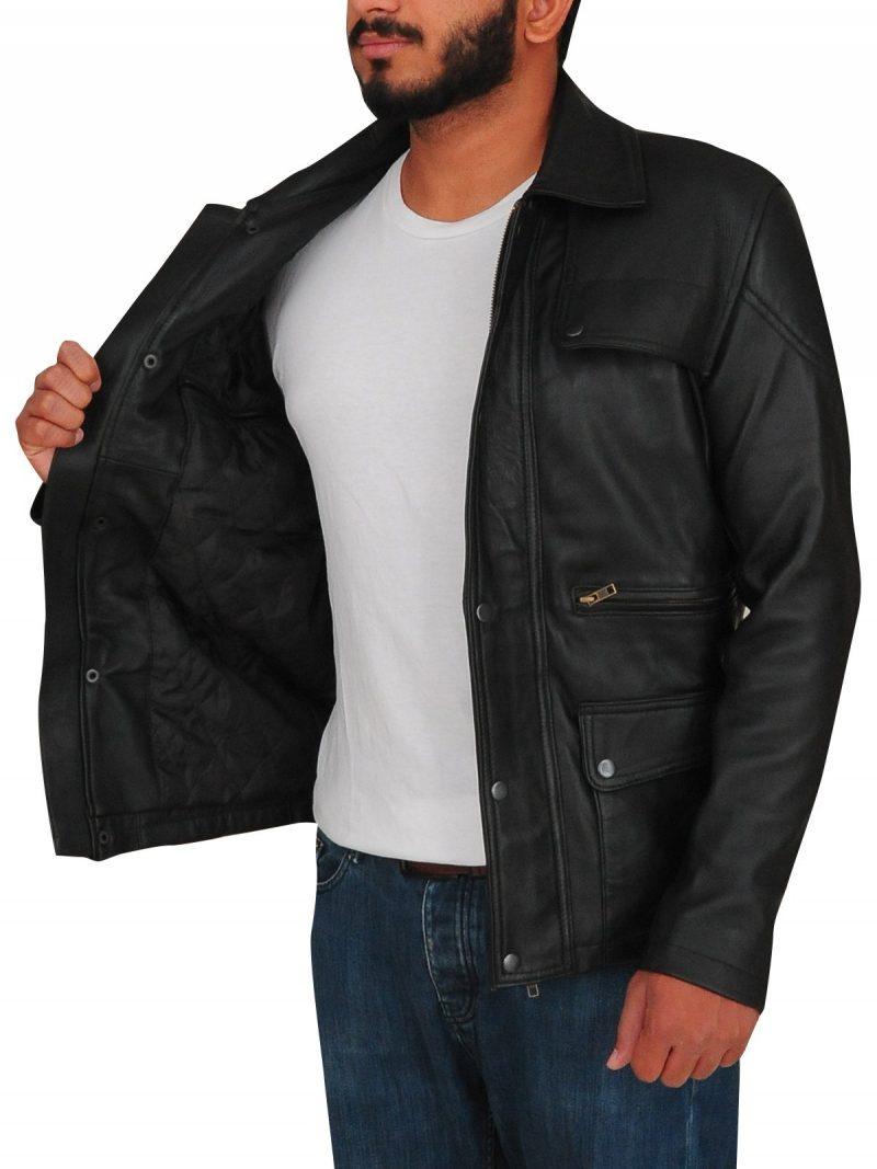Arnold Schwarzenegger Terminator Genisys Leather Jacket