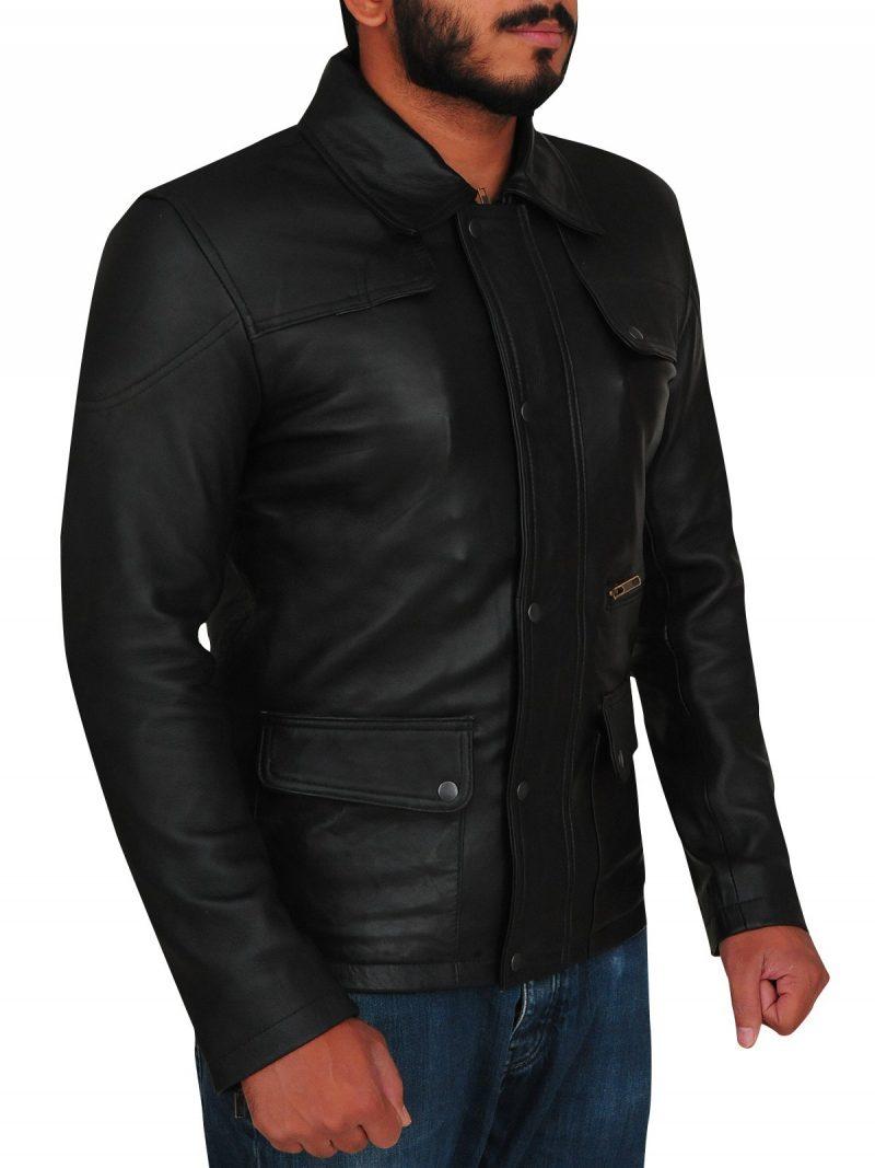 T800 Arnold Schwarzenegger Terminator Genisys Leather Jacket