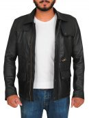 T800 Arnold Schwarzenegger Terminator Genisys Black Jacket