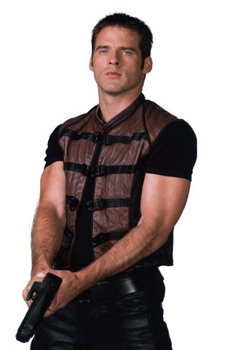 Ben Browder Farscape Leather Vest