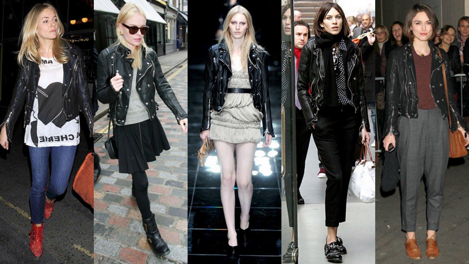 Hollywood celebrity leather jacket