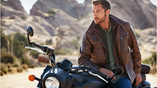 Motorcycle Jackets are the best to get a strong look