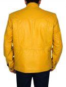 Next Nicolas Cage Stylish Yellow Jacket