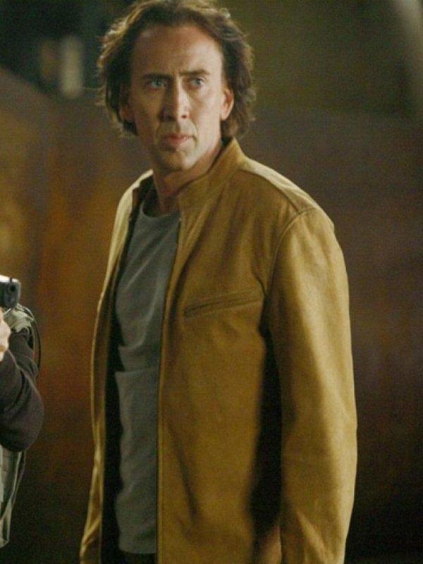 Next Nicolas Cage Leather Jacket