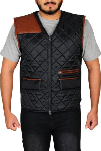The Walking Dead Governor Leather Vest
