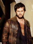 Da Vinci's Demons Tom Riley Brown Distressed Jacket