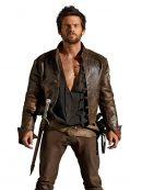 Da Vinci's Demons Tom Riley Distressed Leather Jacket