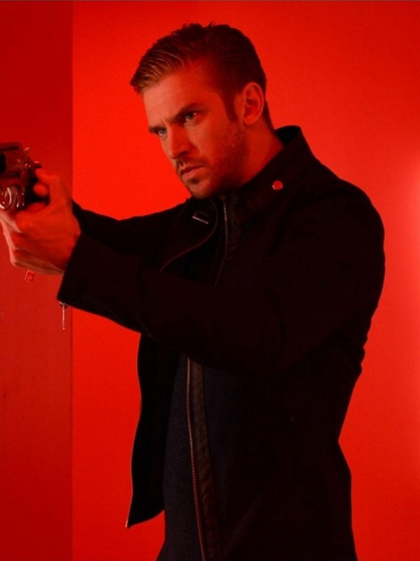 The Guest David Collins Leather Jacket