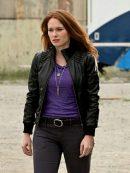 The Flash Plastique Stylish Black Jacket