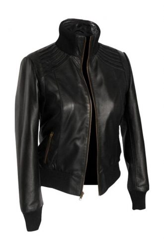 Plastique Leather Jacket