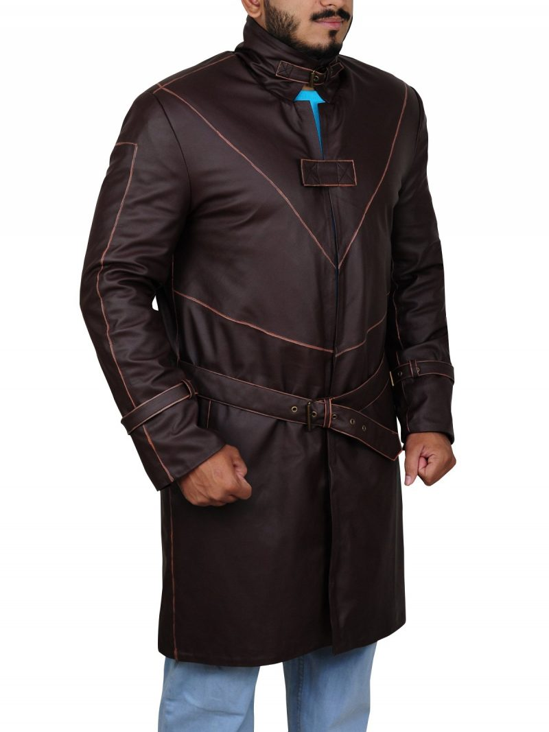 Aiden Pearce Watch Dogs Leather Coat