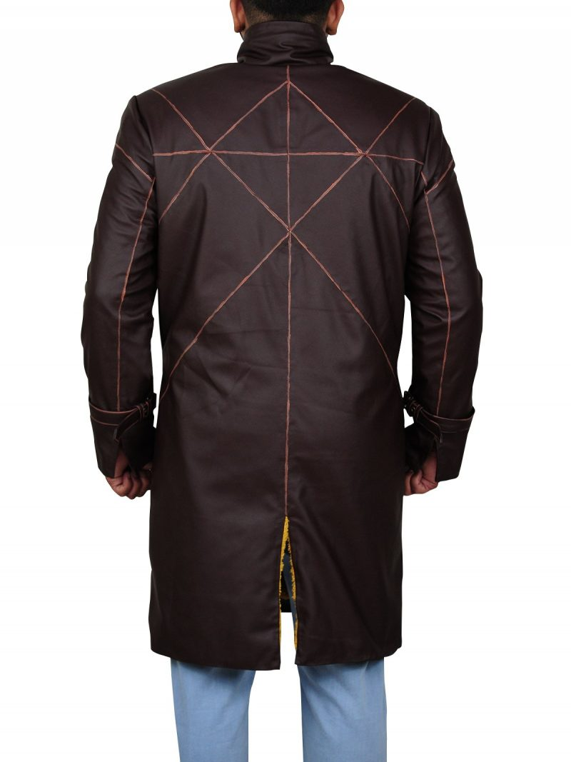 Aiden Pearce Watch Dogs Costume Coat