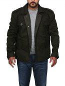 Terminator Genisys T800 Arnold Green Cotton Jacket