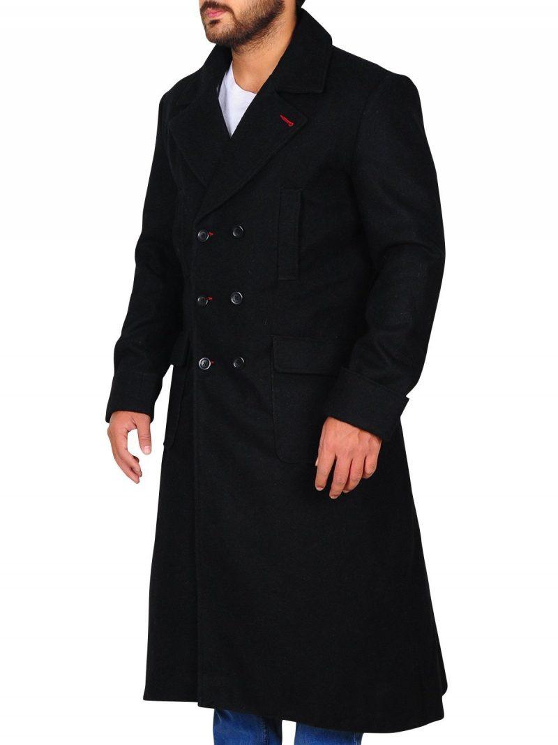 Sherlock Holmes Benedict Cumberbatch Black Coat
