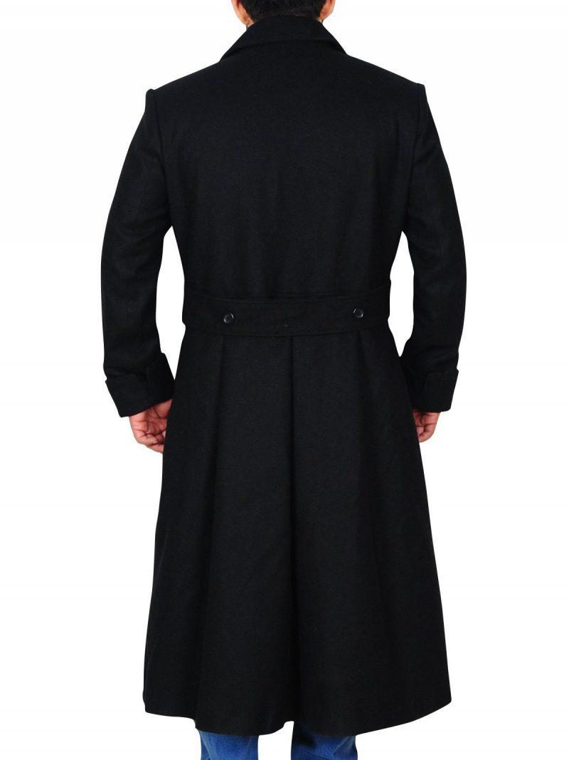 Sherlock Holmes Stylish Black Coat