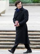 Sherlock Holmes Stylish Trench Coat