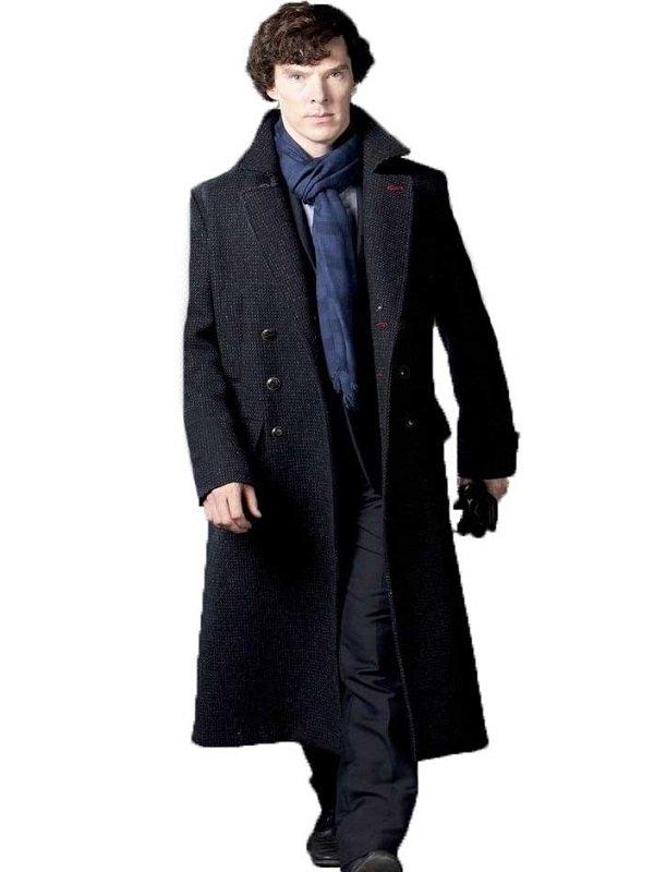 Sherlock Holmes Black Coat