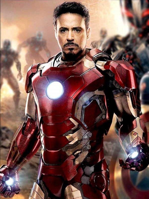 Avengers Iron Man Jacket