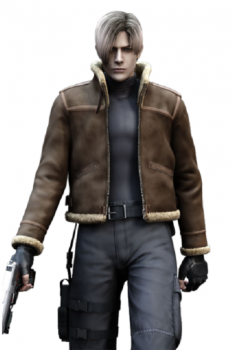 Resident Evil 4 Leon Kennedy Game Jacket