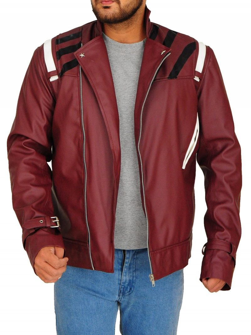 No More Heroes Travis Touchdown Cosplay Leather Jacket