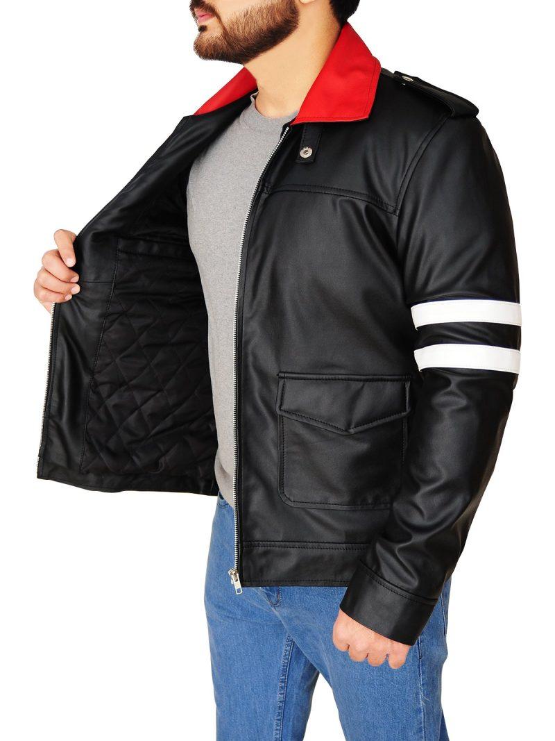 Alex Mercer Cosplay Leather Jacket