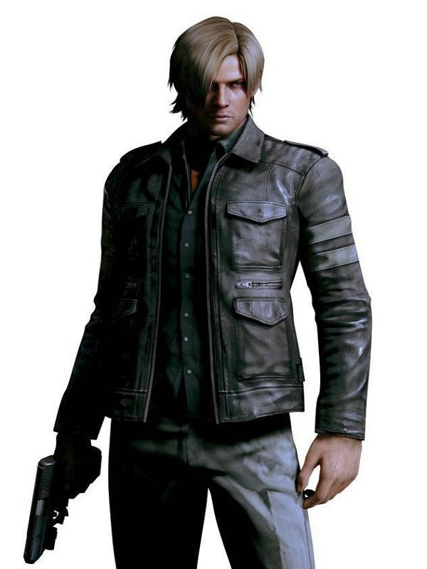 Leon Kennedy Cosplay Jacket Top Celebs Jackets