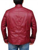 Superman Smallville Series Maroon Jacket