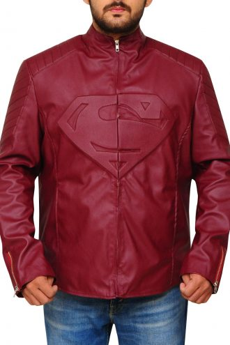 Superhero Superman Smallville Jacket