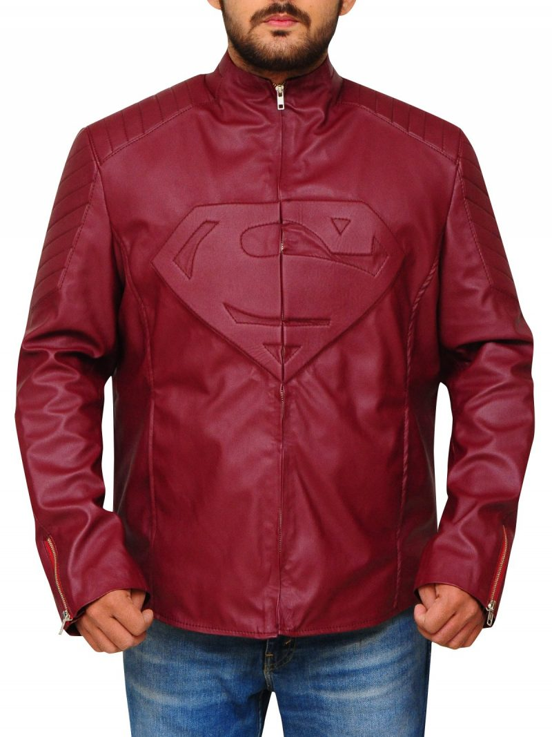 Superhero Superman Smallville Jacket