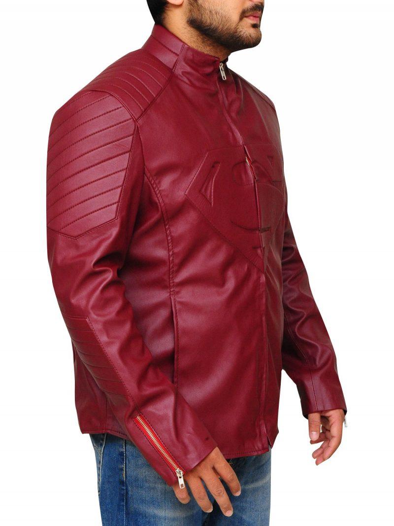 Fictional Superhero Superman Smallville Jacket