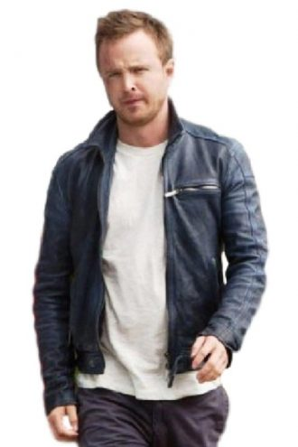 Aaron Paul Need For Speed Black Jacket
