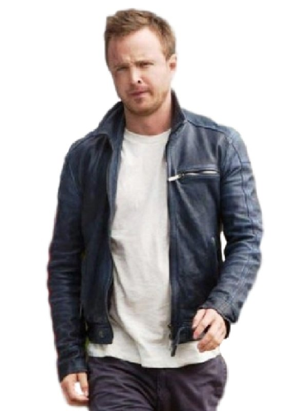 Aaron Paul Need For Speed Black Jacket