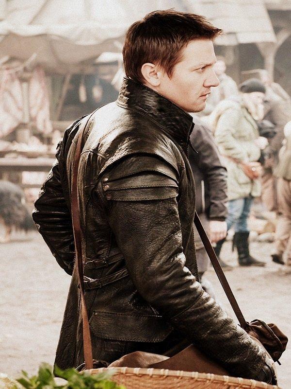 Hansel and Gretel Jeremy Renner Leather Coat